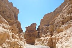 Sesriem, каньон Стоковые Фото