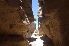 Sesriem, каньон Стоковое Фото