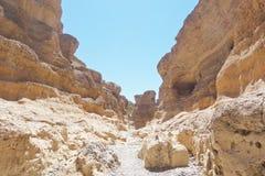 Sesriem, каньон Стоковая Фотография
