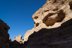 Sesriem canyon in the Namib Stock Photo