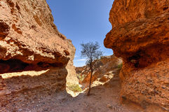 The Sesriem Canyon - Sossusvlei, Namibia Stock Photography