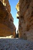 Sesriem kanjon Royaltyfri Fotografi