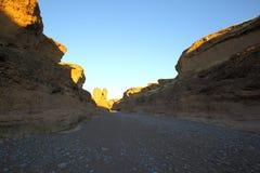 Sesriem kanjon Arkivfoton
