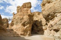 Sesriem kanjon, Namibia Royaltyfri Foto