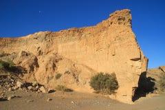 Sesriem-Schlucht, eine nat?rliche Schlucht vor Millionen von Jahren geschnitzt durch den starken Tsauchab-Fluss stockfoto