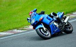 Sessão da equitação da motocicleta no centro da raça de WallraV Imagem de Stock
