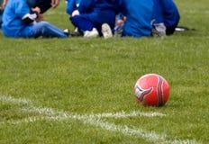 Sessão da estratégia do futebol Imagem de Stock Royalty Free