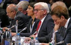 Sessão de fechamento do 2ó Conselho da reunião ministerial do OSCE Foto de Stock Royalty Free