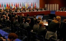 Sessão de fechamento do 2ó Conselho da reunião ministerial do OSCE Imagem de Stock Royalty Free