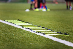 Sessão de formação do futebol Imagem de Stock