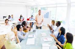 Sessão de formação no escritório Foto de Stock Royalty Free