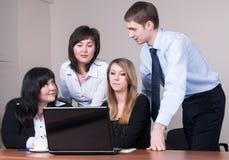 Sessão de reflexão do negócio Imagens de Stock