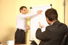 Sessão de reflexão executiva imagens de stock