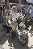 sessantasettesimo Raduno annuale del motociclo di Sturgis Immagini Stock Libere da Diritti
