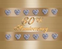 sessantesimo anniversario Fotografia Stock