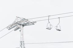 Sesselbahn Lizenzfreies Stockfoto