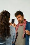 Sessione di foto Immagine Stock