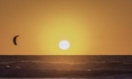 Sessione di tramonto Immagini Stock