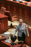 Sessione parlamentare rumena Fotografia Stock Libera da Diritti