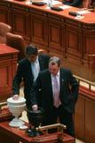 Sessione parlamentare rumena Immagini Stock Libere da Diritti