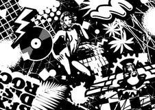 Sesso, discoteca, roccia Fotografia Stock Libera da Diritti