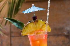 Sesso sul cocktail della spiaggia immagine stock
