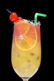 Sesso sulla spiaggia, cocktail Immagine Stock