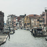 The sestiere (district) of cannaregio venice Royalty Free Stock Images