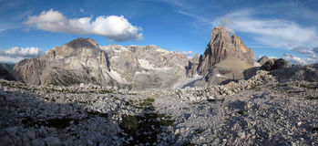 The Sesto Dolomites Stock Photos