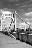 sesto ponticello della via attraverso il fiume allegheny Fotografie Stock