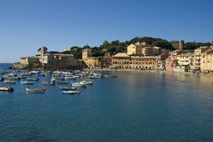 Sestri Levante baia del silenzio Royalty Free Stock Photography