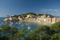 Sestri Levante baia del silenzio Stock Photo