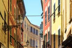 Sestri Levante (genua, Włochy) Obraz Royalty Free