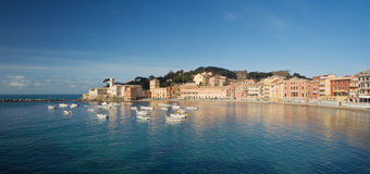 Sestri Levante, panorama Stock Photography