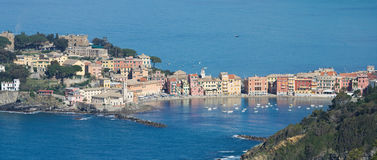 Sestri Levante, silence bay Royalty Free Stock Images