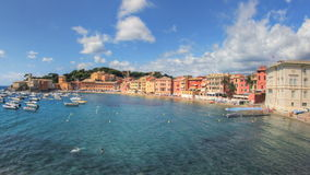Sestri Levante-Strand stock video