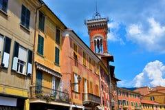 Sestri Levante Włochy obrazy stock