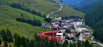 Sestriere Stock Image