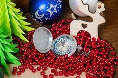 Set świąteczni przedmioty dekorować pokoje Zdjęcie Royalty Free