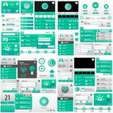 Set światowy interfejs użytkownika Zdjęcia Royalty Free