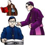 Set主教的 库存图片