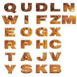 Set of 3d bright alphabet Royalty Free Stock Photo