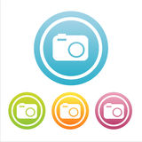 set of 4 photography signs Stock Photo
