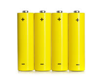 Set of AA batteries Stock Photos