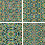Set of abstrack pencil color seamless colorful background Royalty Free Stock Photography