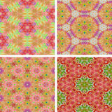 Set of abstrack seamless colorful background. Set of abstrack colorful background stock illustration