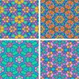 Set abstrack wodnego koloru obrazu bezszwowy kolorowy backgroun Zdjęcie Stock