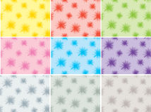 Set of abstract background Stock Photography