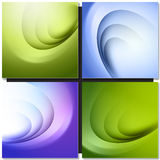 Set of Abstract background Stock Image
