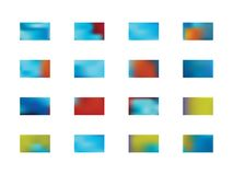 Set of abstract background pictures. royalty free illustration
